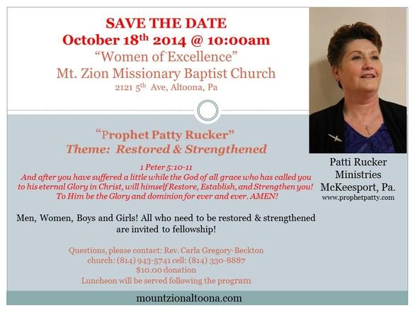 Sunday School, Mount Zion Missionary Baptist Church ...